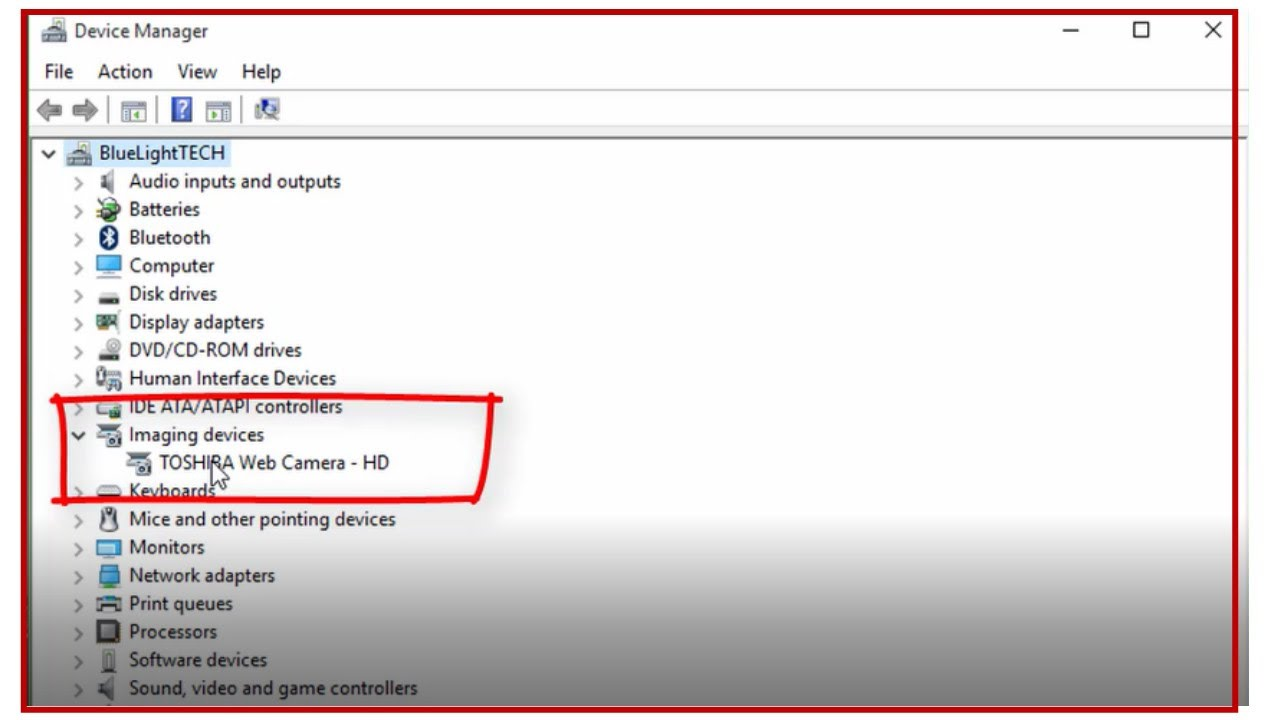 Fix Imaging Devices Missing From Device Manager in Windows 10/8/7