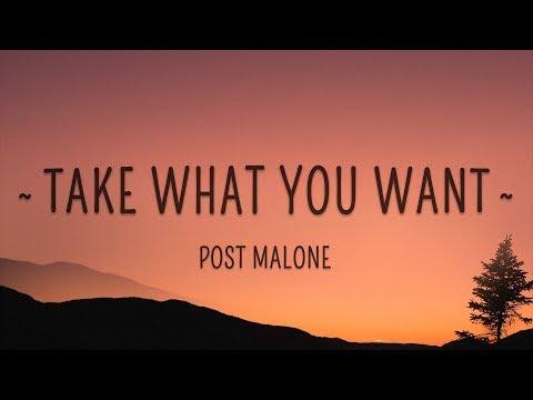 Post Malone, Ozzy Osbourne – Take What You Want (Lyrics) feat. Travis Scott