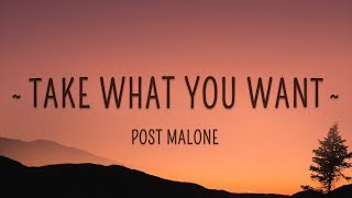 Post Malone, Ozzy Osbourne - Take What You Want (Lyrics) feat. Travis Scott