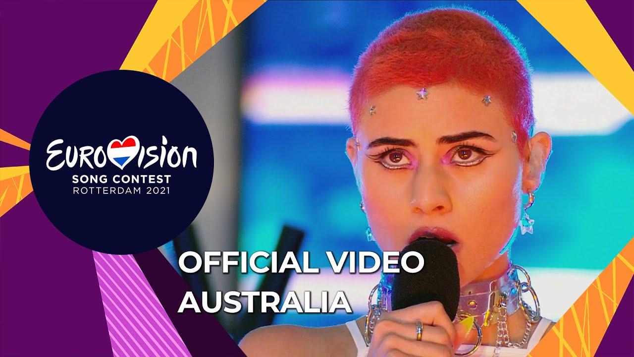Montaigne Technicolour Australia Official Video Eurovision 2021 Youtube