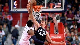 Beal, Wall Combine 58! Wall Dunks on Valanciunas Game 4! 2018 NBA Playoffs