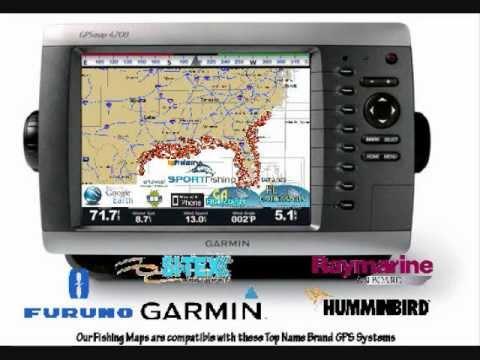 Florida GPS Fishing Maps And Coordinates