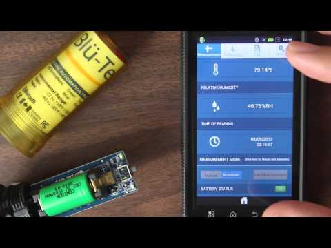 BAPI Blu-Test Tool - Taking Temperature and Humidity Measurements with Your Phone