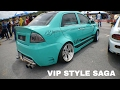 Proton Saga Turbo VIP Style Interior and Exterior | Mega Gathering 2K16 UPSI Tanjung Malim | Closeup