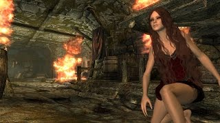 Skyrim Redone: ** Демоника В Мире Скайрима  - Начало - ** (Маг #1)