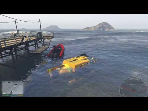 Đi Máy Bay Ra Đảo Lấy Tàu Ngầm Thám Hiểm Đại Dương Trong GTA V #1 - ThanhTrungGM