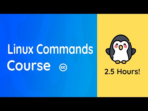 Linux Command-line Full Course: 2.5 Hours!