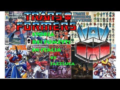 TRANSFORMERS Comics History, la storia dei fumetti in Italia