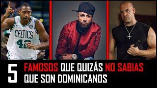 famosos que quizas no sabias que son dominicanos