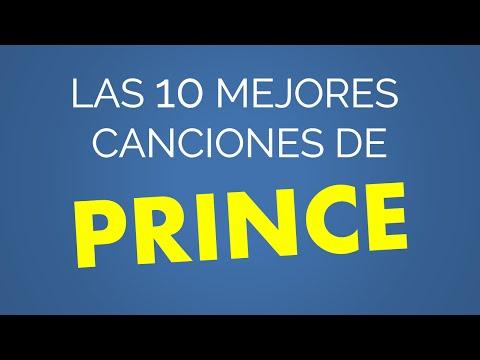 Las 10 mejores canciones de PRINCE