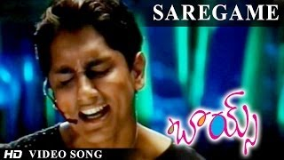 Boys Movie | Saregame Video Song | Siddarth, Bharath, Genelia