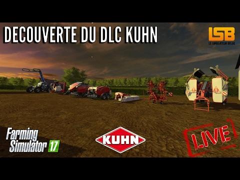 [LIVE] FS17 | Découverte du DLC Kuhn!