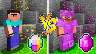 MINECRAFT - NOOB VS PRO: RAINBOW DIAMOND BATTLE in Minecraft