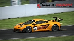 R3E - McLaren MP4-12C @Hockenheim National Livecam/Footcam/TVcam