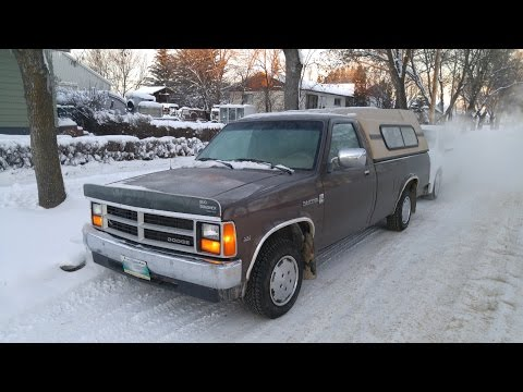 Cold Start - 88 Dodge Dakota -30C -22F