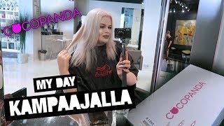 MY DAY: Kampaajalla & Cocopanda! | Henry Harjusola