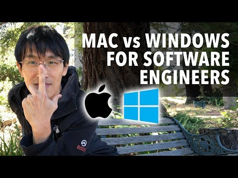 Mac vs Windows for Software Engineers (best laptop for progr
