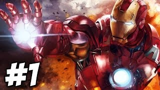 Iron Man 2 Walkthrough | Mission 1: The Stark Archives | Part 1 (Xbox360/PS3)