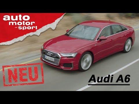 Audi A6 (2018) - exklusive Neuvorstellung / Test / Review | auto motor und sport