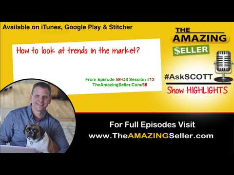 How To Look At Trends In The Market? TAS 058 The Amazing Seller