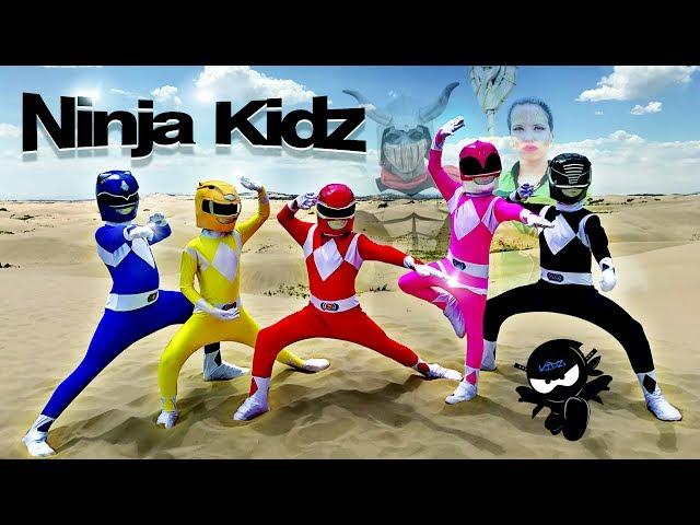 POWER RANGERS NINJA KIDZ 2!