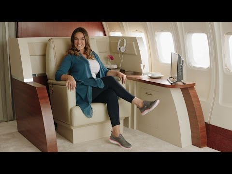 Skechers Air-Cooled Memory Foam with Kelly Brook commercial