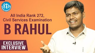 All India Rank 272, Civil Services Examination, B Rahul Exclusive Interview | Dil Se with Anjali