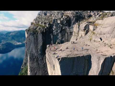 A travel to Norway - Preikestolen, Trolltunga, Kayaking Sognefjorden