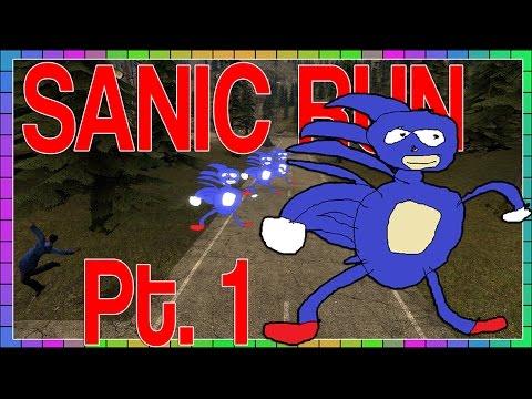 Gmod - Sanic Run Pt.1