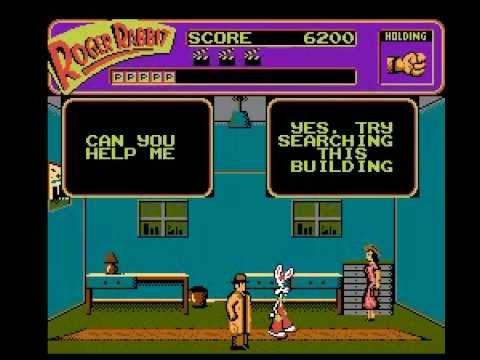 who framed roger rabbit nes gameplay demo nintendocomplete - Who Framed Roger Rabbit Nes