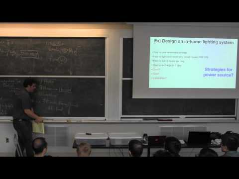 2.76 - Lecture 7 - fining design requirements and forming st