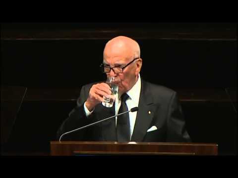 Rupert Murdoch delivers 2013 Lowy lecture in Australia