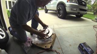 Installing front brakes & rotors (2006 Volvo S40)