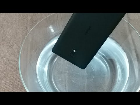 Nokia 3 - Indian Retail Unit - Water Test | PERFORMED LIVE
