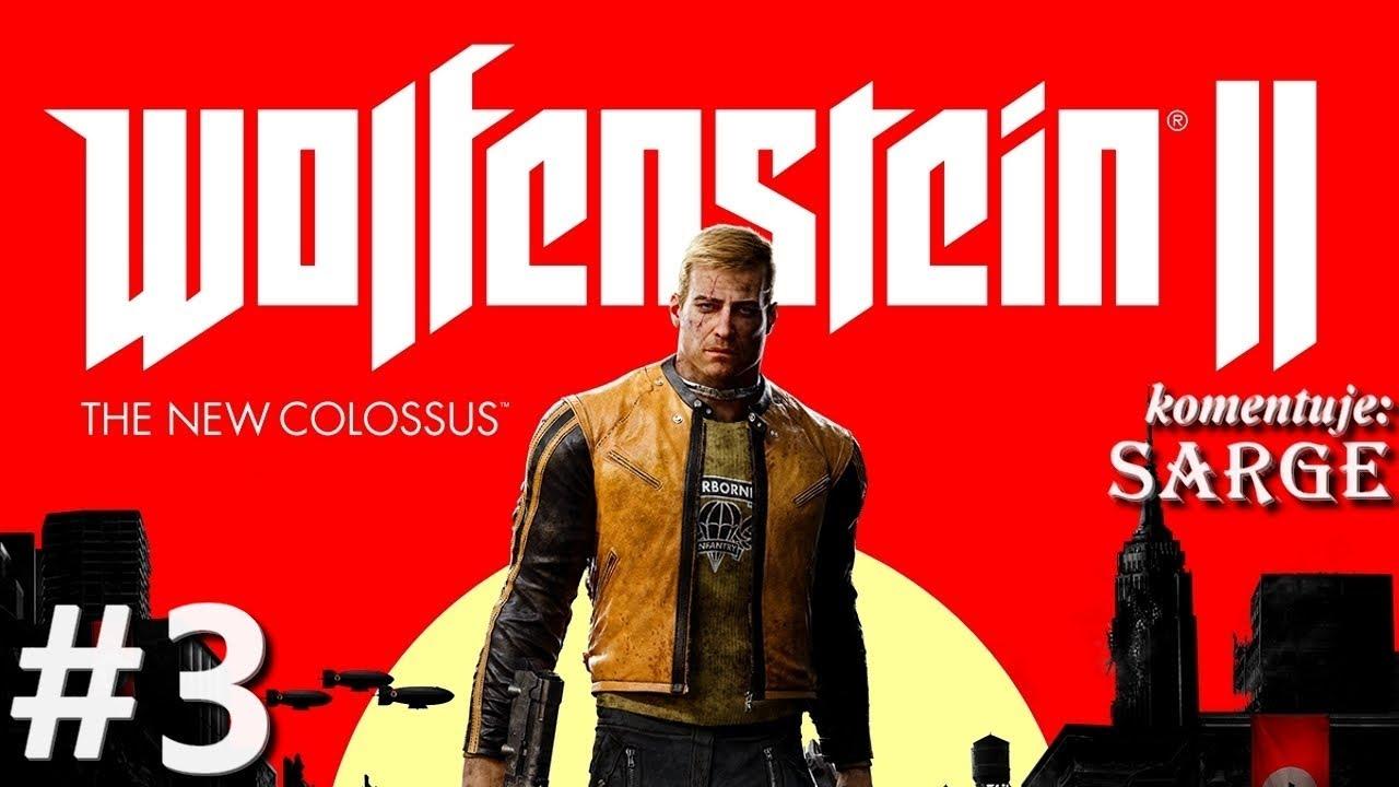 Zagrajmy w Wolfenstein 2: The New Colossus [60 fps] odc. 3 – Laserowa superbroń