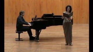Alban Berg: Vier Lieder, op. 2 (Hebbel, Mombert) /LIVE/