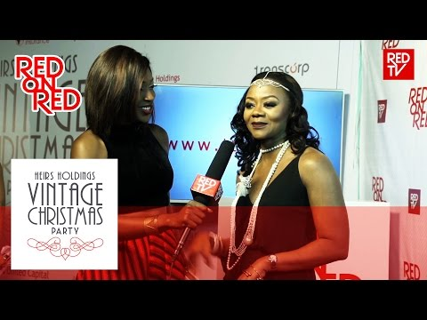 RED ON RED / HEIRS HOLDINGS VINTAGE CHRISTMAS PARTY