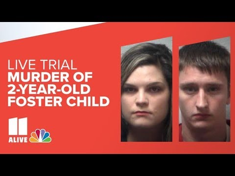 Livestream of murder trial of foster parents accused of killing 2-year-old girl