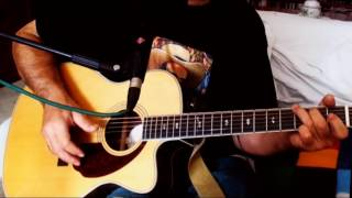 Lay Down Beside Me ~ Don Williams ~ Acoustic Cover w/ Fender PM-3 Deluxe 000 NT