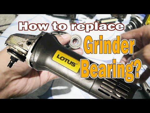 How to Replace ANGULAR GRINDER BEARING (LOTUS)