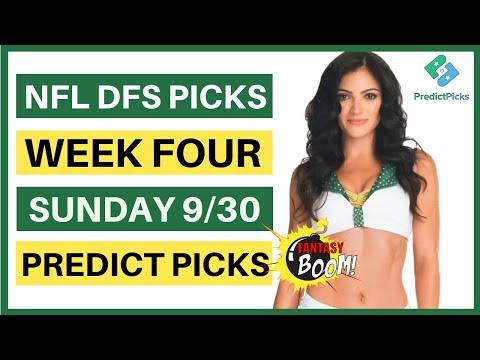 nfl-dfs-week-4-predict-picks-|-daily-fantasy-football-nfl-|-nfl-dfs-picks