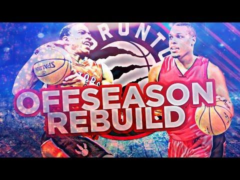 NEW STAR POINT GUARD!! RAPTORS OFFSEASON REBUILD!! NBA 2K17 MY LEAGUE