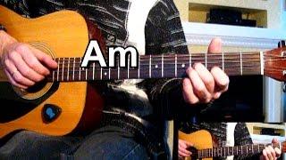 Мелодия на гитаре из фильма - Жмурки - Тональность ( Аm ) Как играть на гитаре песню