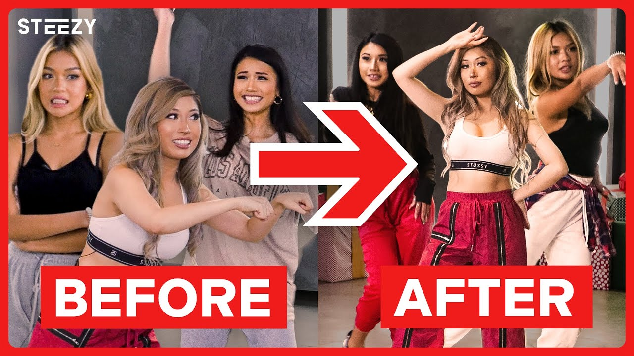 Download Influencers Learn Their First Dance Routine! | STEEZY.CO