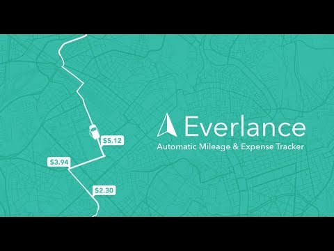 everlance free mileage log apps on google play