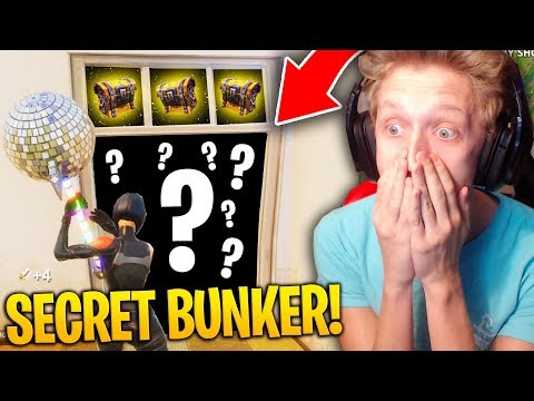 NEW SECRET HIDDEN BUNKER FOUND IN FORTNITE! (BEST LOOT SPOT)