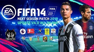 FIFA 14 | Next Season Patch 2019 Update V4.0 AIO