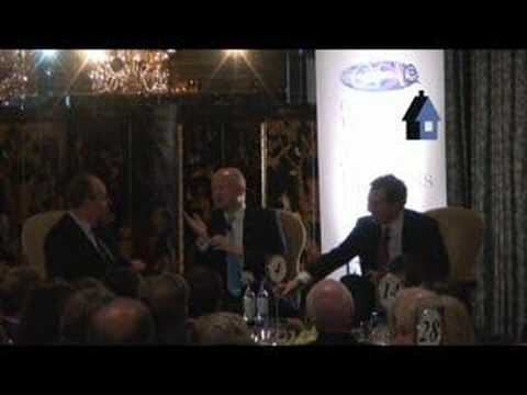 William Hague & George Osborne at the CFI (2 of 3)