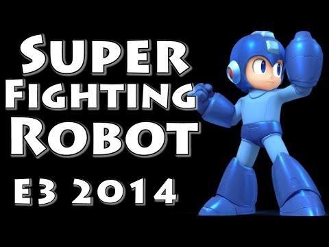 Download Youtube: Super Fighting Robot! Megaman! (Final Smash with Music!) Super Smash Bros Invitational - E3 2014