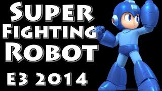 Super Fighting Robot! Megaman! (Final Smash with Music!) Super Smash Bros Invitational - E3 2014